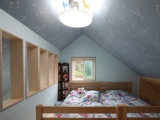봉상리 주택 아시아스타일 침실 by 위드하임 한옥