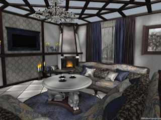 Living room by GNAdesigngroup, Classic