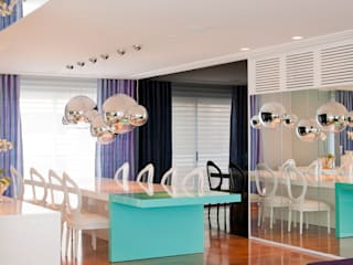 Dining room by Brunete Fraccaroli Arquitetura e Interiores