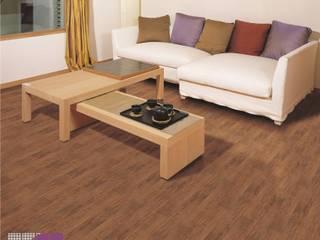 Oficinas y comercios de estilo minimalista de 100% Pisos Minimalista Madera Acabado en madera