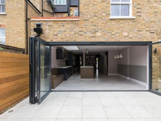 Double Storey Extension, Clapham SW11 Modern terrace by TOTUS Modern