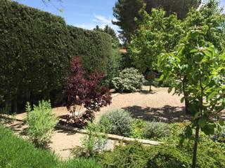 Сад в средиземноморском стиле от Azarbe jardines Средиземноморский