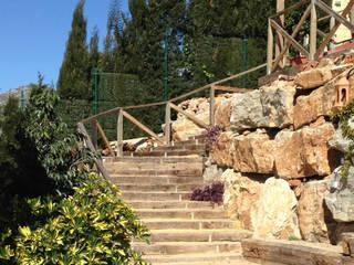Śródziemnomorski ogród od Vallados y Jardines Śródziemnomorski