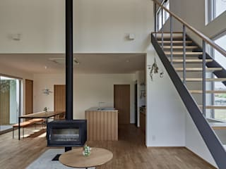 toki Architect design office의  거실