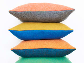 Lane Twin Tone Tweed Cushion:   by Lane