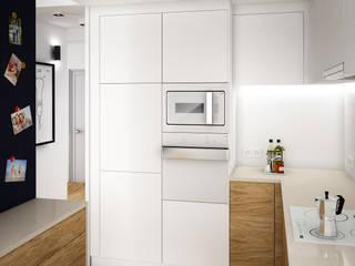 Kuchnia / Kitchen: styl , w kategorii Kuchnia zaprojektowany przez DOT STUDIO Agnieszka Żakowska-Nowak