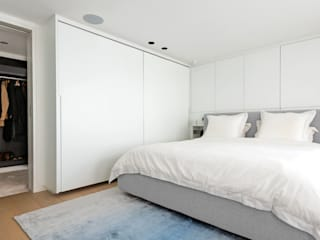 MASTER BEDROOM Landmass London Scandinavische slaapkamers