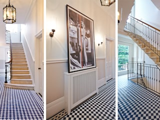 LITTLE VENICE Landmass London Classic corridor, hallway & stairs