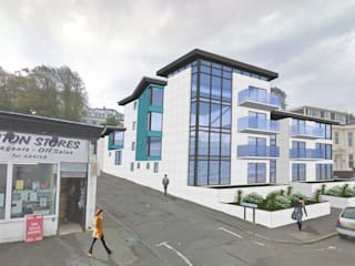 Firth Hotel site, Ashton Road, Gourock by Richard Robb Architects