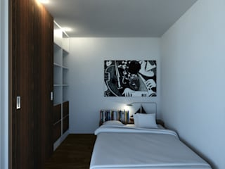 Bedroom by ARTEQUITECTOS