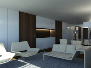 Living room by ARTEQUITECTOS, Modern