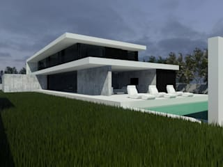 Houses by ARTEQUITECTOS, Modern