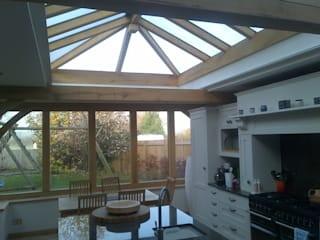 Roof lantern blinds Country style kitchen by WiSER Country