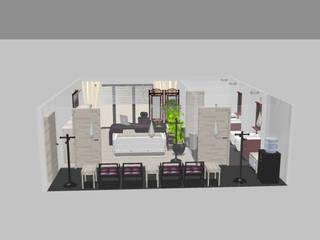 Aranżacja wnętrz: styl , w kategorii Domowe biuro i gabinet zaprojektowany przez Styl i Wnętrze