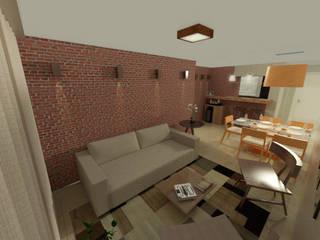 Apartamento CL - Asa Norte - Brasília:   por Staff Arquitetura e Engenharia