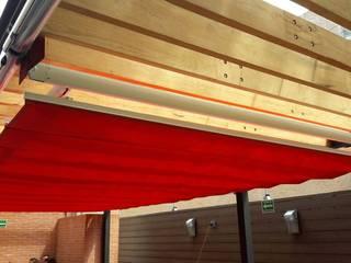 Palilleria ZEN Motorizada entre paredes sobre estructura:  de estilo  por HLA181026V73