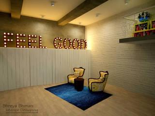 Oficinas de estilo moderno de Shreya Bhimani Designs Moderno