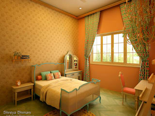 Teen's Room Modern style bedroom by Shreya Bhimani Designs Modern