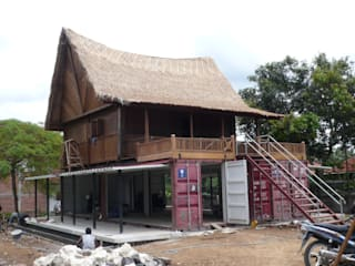 Eclectic style houses by comprar en bali Eclectic