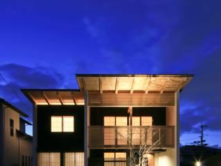 kumekubota house: 髙岡建築研究室が手掛けた家です。,和風