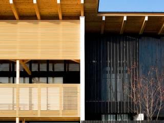 umaki house: 髙岡建築研究室が手掛けた家です。,和風