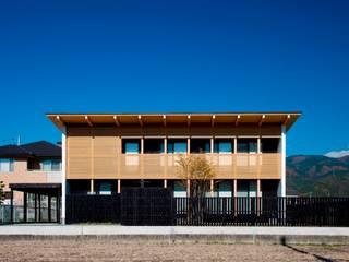 minamikata house: 髙岡建築研究室が手掛けた家です。,和風