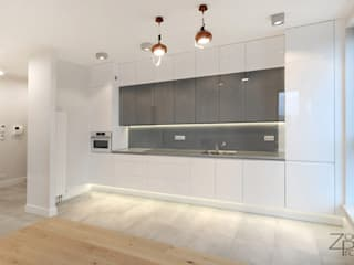 Modern kitchen by ZoomProjekt Modern
