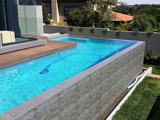 Modern Pool by Gorgeous Gardens Modern