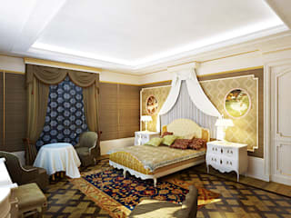 Modern Bedroom by Design studio of Stanislav Orekhov. ARCHITECTURE / INTERIOR DESIGN / VISUALIZATION. Modern