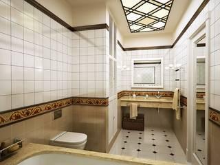 Modern Bathroom by Design studio of Stanislav Orekhov. ARCHITECTURE / INTERIOR DESIGN / VISUALIZATION. Modern