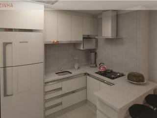 Apartamento VN:   por Elmir Bortolanza Arquitetura
