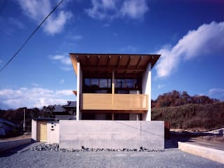 zenouji house: 髙岡建築研究室が手掛けた家です。,和風