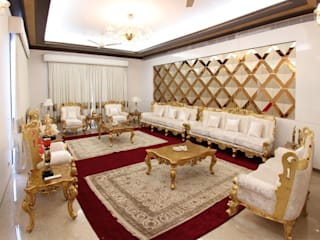 Interior Design Services:  Living room by Saffron Touch - Interior Architecture Construction