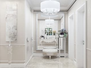 Couloir et hall d'entrée de style  par Студия дизайна Дарьи Одарюк,