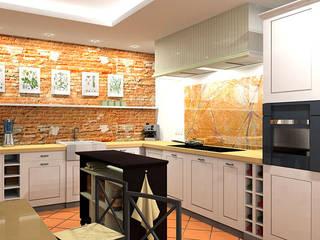 kuchnia w stylu vintage: styl , w kategorii Kuchnia zaprojektowany przez BB Projekt