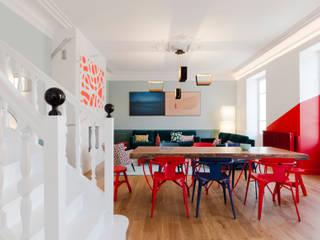 Agence d'architecture intérieure Laurence Faure Comedores de estilo moderno