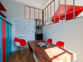 Agence d'architecture intérieure Laurence Faure Modern study/office
