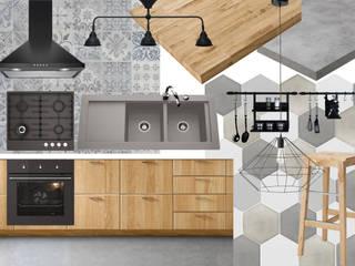 Cocina Cocinas de estilo industrial de INAR studio Industrial