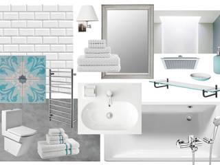 Baño Baños de estilo clásico de INAR studio Clásico