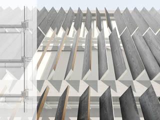 Edificio Gotemburgo Casas de estilo escandinavo de INAR studio Escandinavo