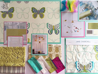 Girl's bedroom: eclectic  by Design by Jo Bee, Eclectic