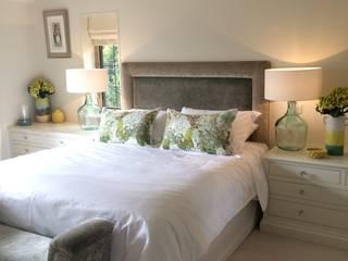 Master Bedroom:  Bedroom by Design by Jo Bee