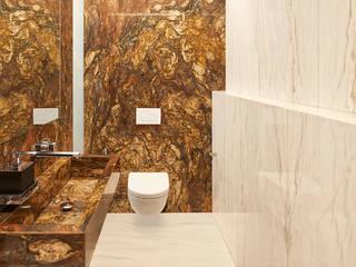 HUBER NATURSTEIN bei Münchenが手掛けた浴室, モダン