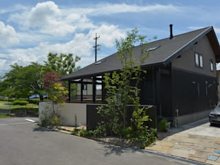 T's Garden Square Co.,Ltd. Modern houses Wood