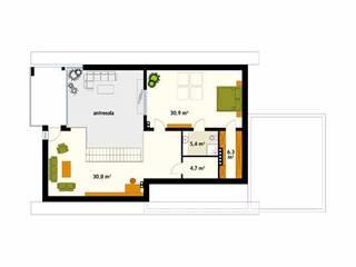homify Paredes e pisos modernos