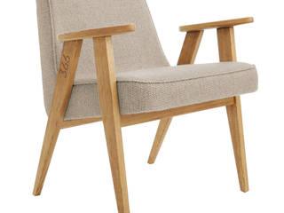 366 easy chair Tweed: styl , w kategorii  zaprojektowany przez 366 Concept Design & Lifestyle