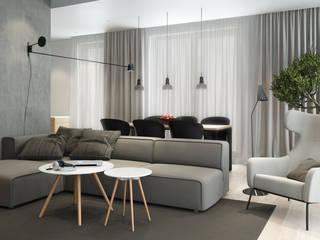 Apartament na Wilanowie: styl , w kategorii Salon zaprojektowany przez Projektownia Wnętrz