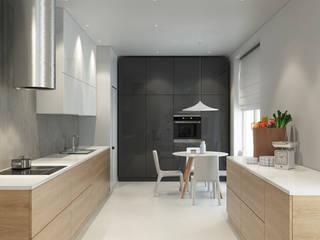Apartament na Wilanowie: styl , w kategorii Kuchnia zaprojektowany przez Projektownia Wnętrz