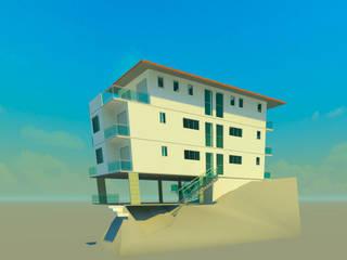 Edificio Residencial Pescador Casas coloniais por MINAS BRASIL ARQUITETURA LTDA Colonial