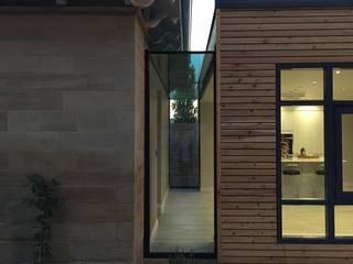 Westfields Lodge Modern Corridor, Hallway and Staircase by Orange Design Studio Modern